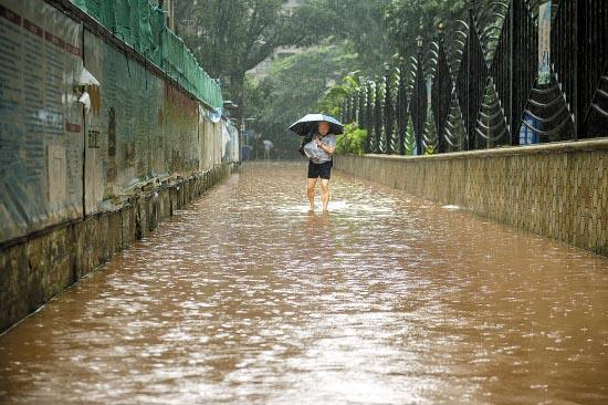 明天广州将再现34℃高温