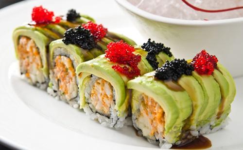 夏日寿司 吃出怡人清爽 新鲜滋味