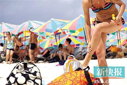 不做黑美人 玩海岛防晒装备不能少