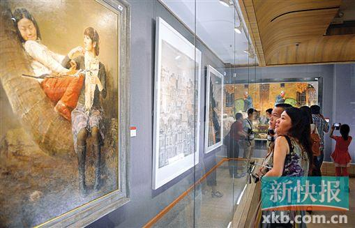 722件作品在市艺术博物院展出半个月