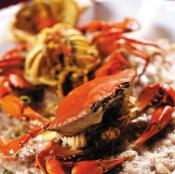 翠苑海鲜酒家:提前带来黄油蟹