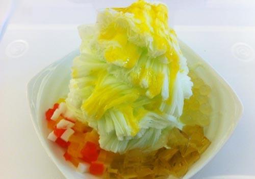 天时暑热最好吃:四哥雪花冰专门店