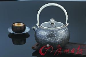 广府工艺大观:银壶伴明月,茶香漫厅堂
