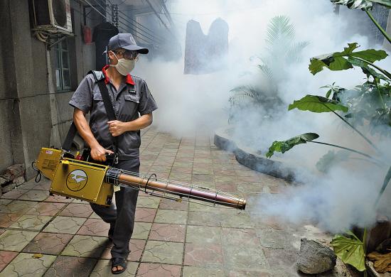 登革热疫情凶猛 广州哪里最多蚊
