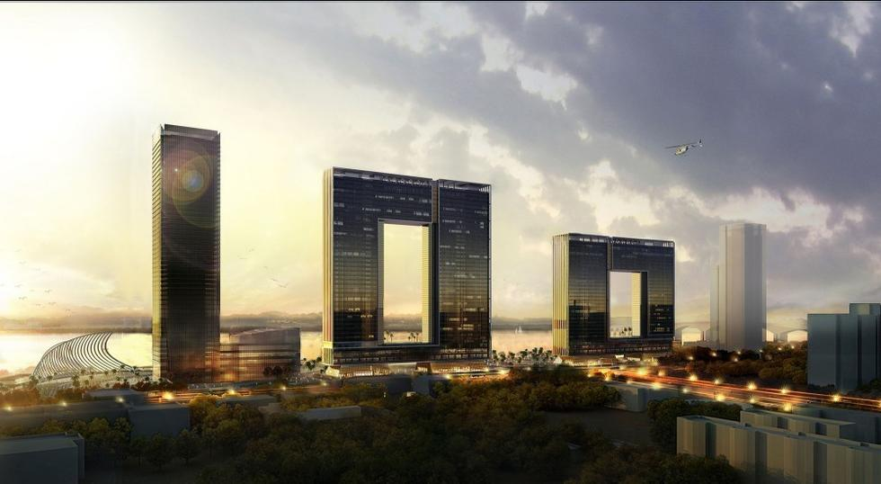 """广州001大厦""""1""""下月竣工"""