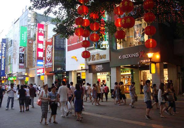 北京路街景