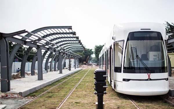 广州最美有轨电车月底通行