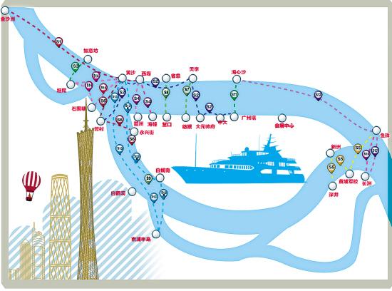 去黄沙买海鲜 番禺坐水巴34分钟就到