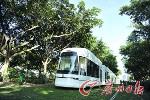 广州有轨电车开通在即 观光线路如何揽人气?