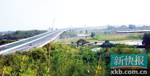 上跨京广线下穿武广高铁-肇花高速什么时候开通