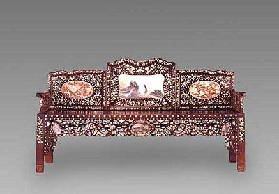 琐议广式家具的中西混合风格
