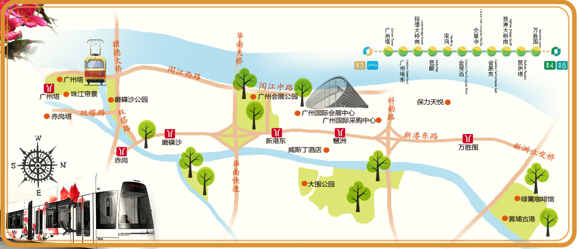 【亲子】春节沿着有轨电车游黄埔古港