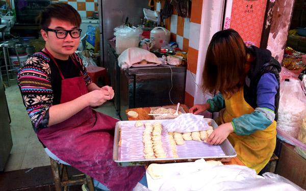 广州哪里有正宗又好吃的蛋散油角年货