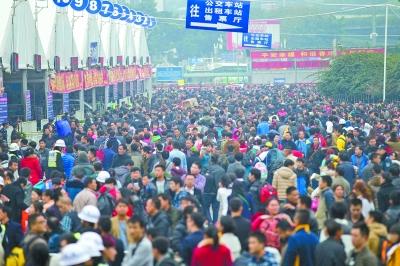 春运的历史:广州火车站见证大迁徙四十载