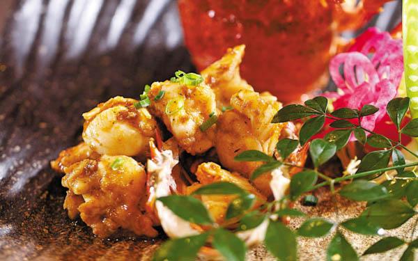 吃什么 吃生猛龙虾贺新年