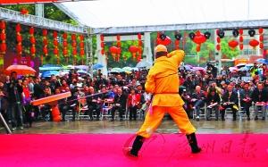 广州广府庙会开锣 一连玩足七天