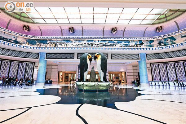 珠海长隆企鹅酒店,马戏酒店开门迎客啦!