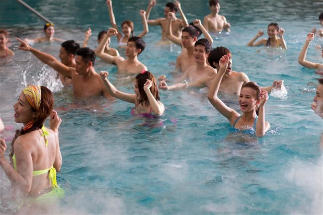广州长隆水上乐园SPA温水池游玩全攻略!