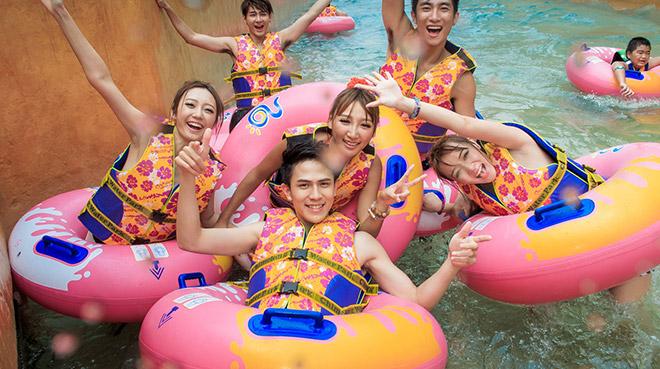 广州长隆水上乐园必玩的游乐设施
