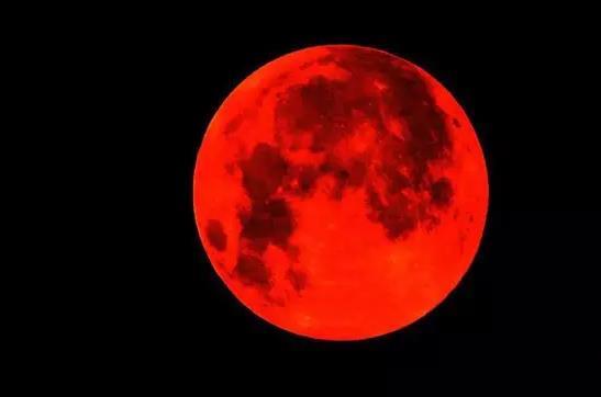 """dquo;红月亮"""""""