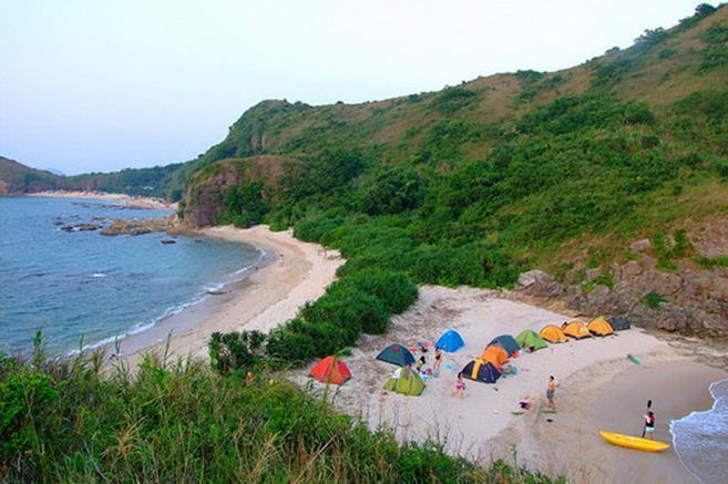 大辣甲岛位于深圳大鹏半岛,惠阳,惠东之间,是广东沿海水质最好的海湾
