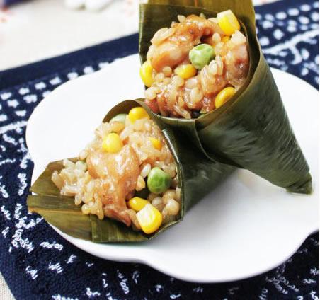广州美食之五谷糯米鸡介绍
