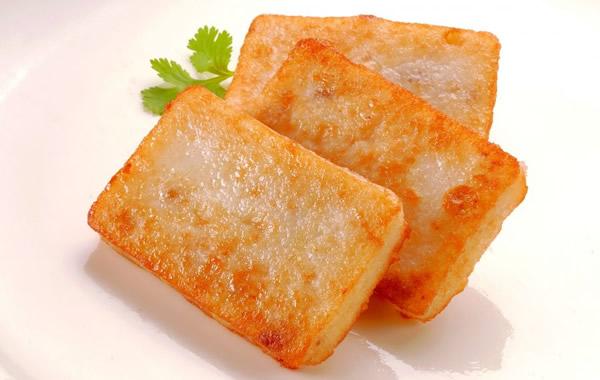 广州美食之正宗广式萝卜糕介绍