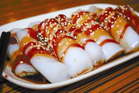广州美食之肠粉酱汁介绍