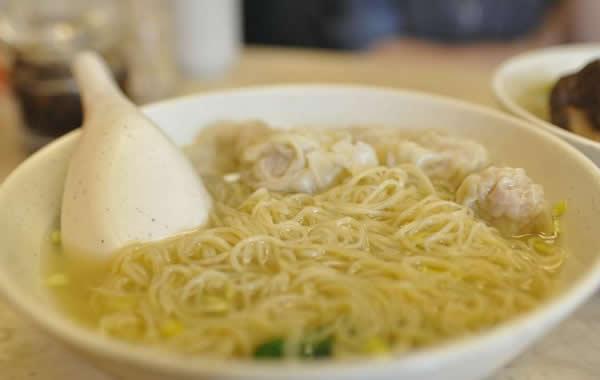 广州美食之正宗云吞面介绍