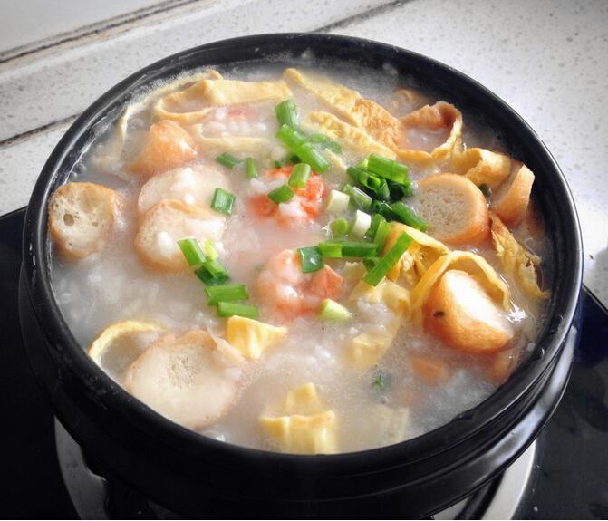 爱上广州,从一碗艇仔粥开始