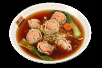 广州美食故事:最够广州味的那碗鲜虾云吞面