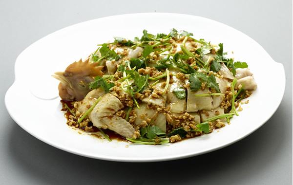 食在广州:荔湾区美食陶陶姜葱鸡介绍