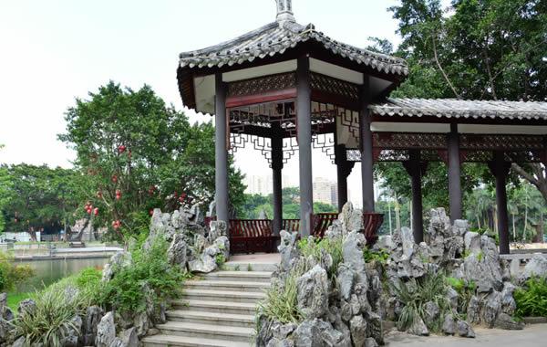 荔湾湖公园:一个盛夏消暑胜地