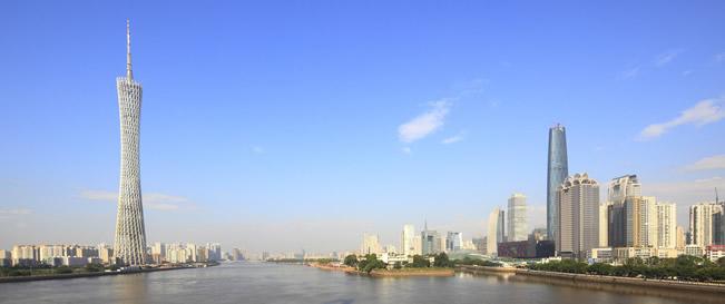 """广州电视塔:""""小蛮腰""""乃广州新地标、中国第一高塔"""