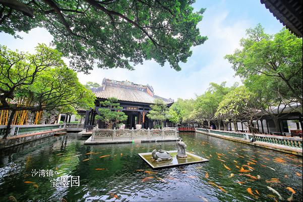 宝墨园:集清宫文化、岭南古建筑、珠三角水乡特色于一体