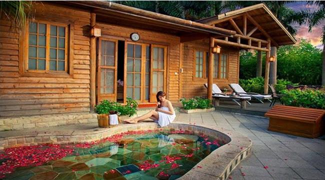 碧水湾:集住宿餐饮、休闲娱乐、养生度假于一体综合温泉度假村