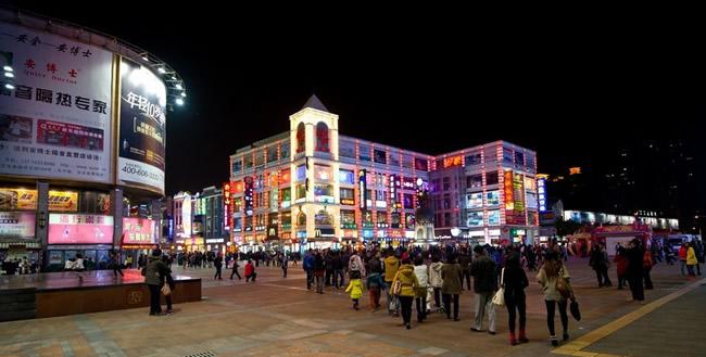广州看夜景的地方:上下九步行街蜚声海内外