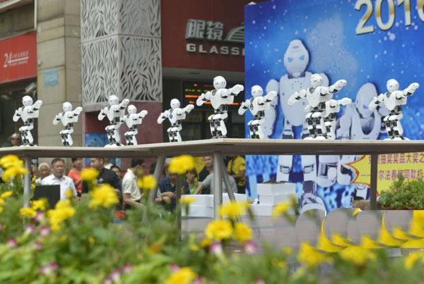 2016年广州机器人人嘉年华展览会6月17日拉开帷幕