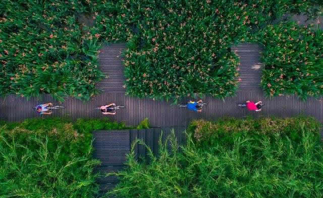 """天河智慧城大观湿地公园成为广州首个""""海绵城市""""试点"""