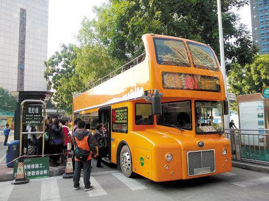 出行攻略:2016年双层观光巴士进入广州CBD