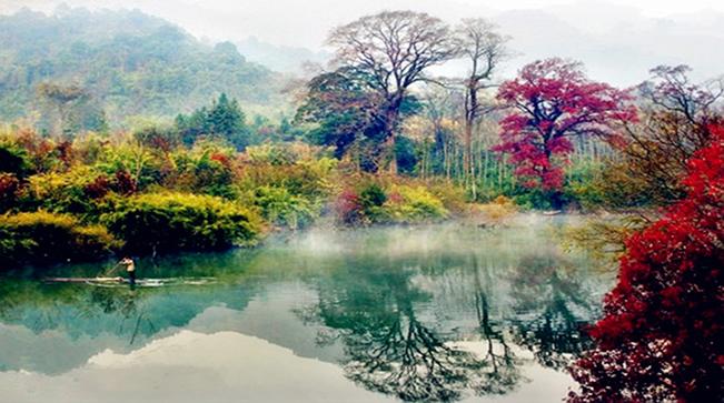 """广东南岭国家森林公园风景区入选""""中国天然氧吧"""""""