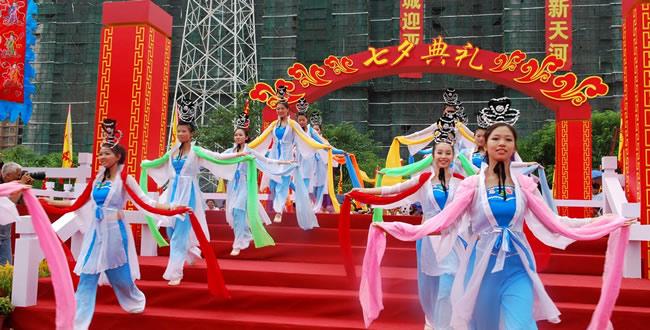 2016年广州珠村乞巧文化节8月5日在天河开幕