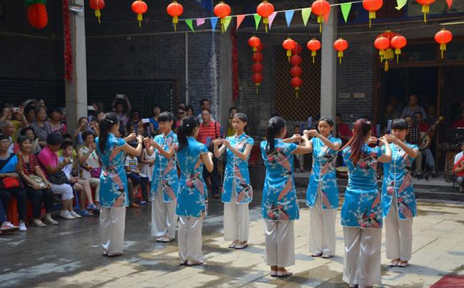 2016年广州乞巧文化节在天河珠村来开帷幕