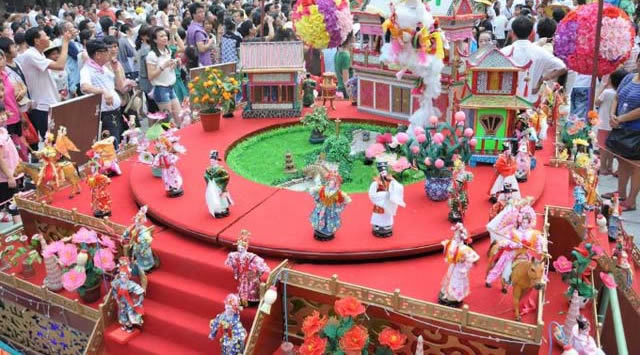 一日游好去处:乞巧文化首次在广州塔进行展示