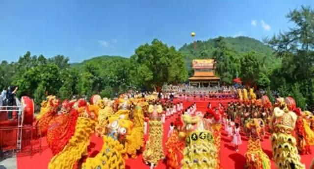 中国盘古王民俗文化节9月9日在花都举行