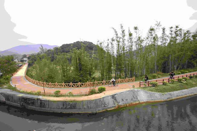 城市规划:广州未来五年将新建120公里水上绿道