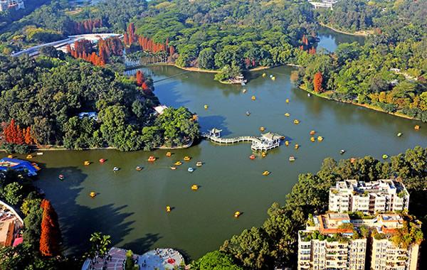 旅游新闻:广州天河公园规划建设主题花海公园