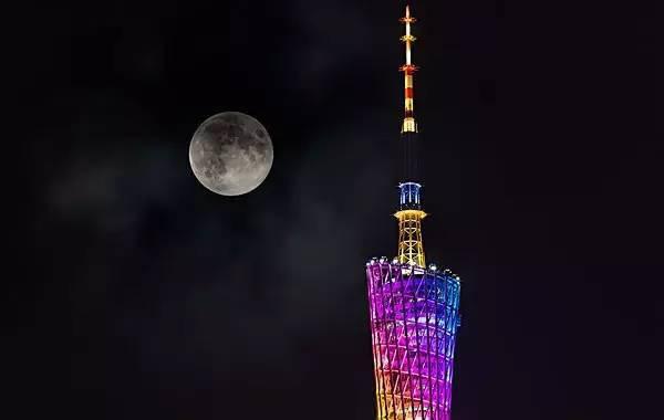 中秋去哪赏月?登上广州塔举手摘星辰!