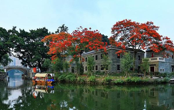 广州中秋赏月好去处:荔湾湖公园
