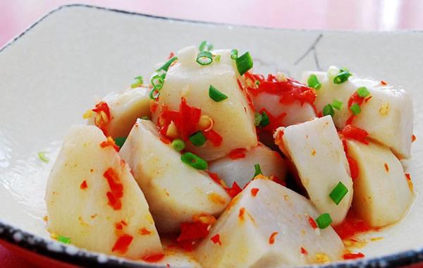 中秋节的传统美食推荐之蒸芋头